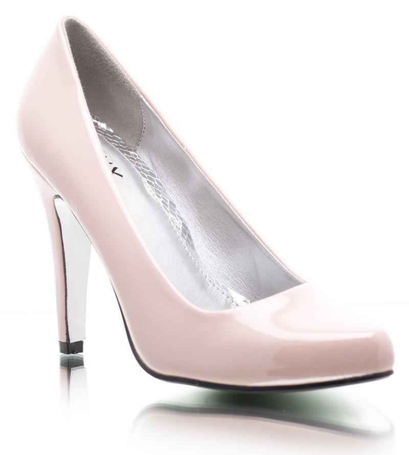 różowe szpilki DeeZee - wieczorowe obuwie