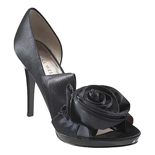 czarne szpilki Nine West - wieczorowe obuwie