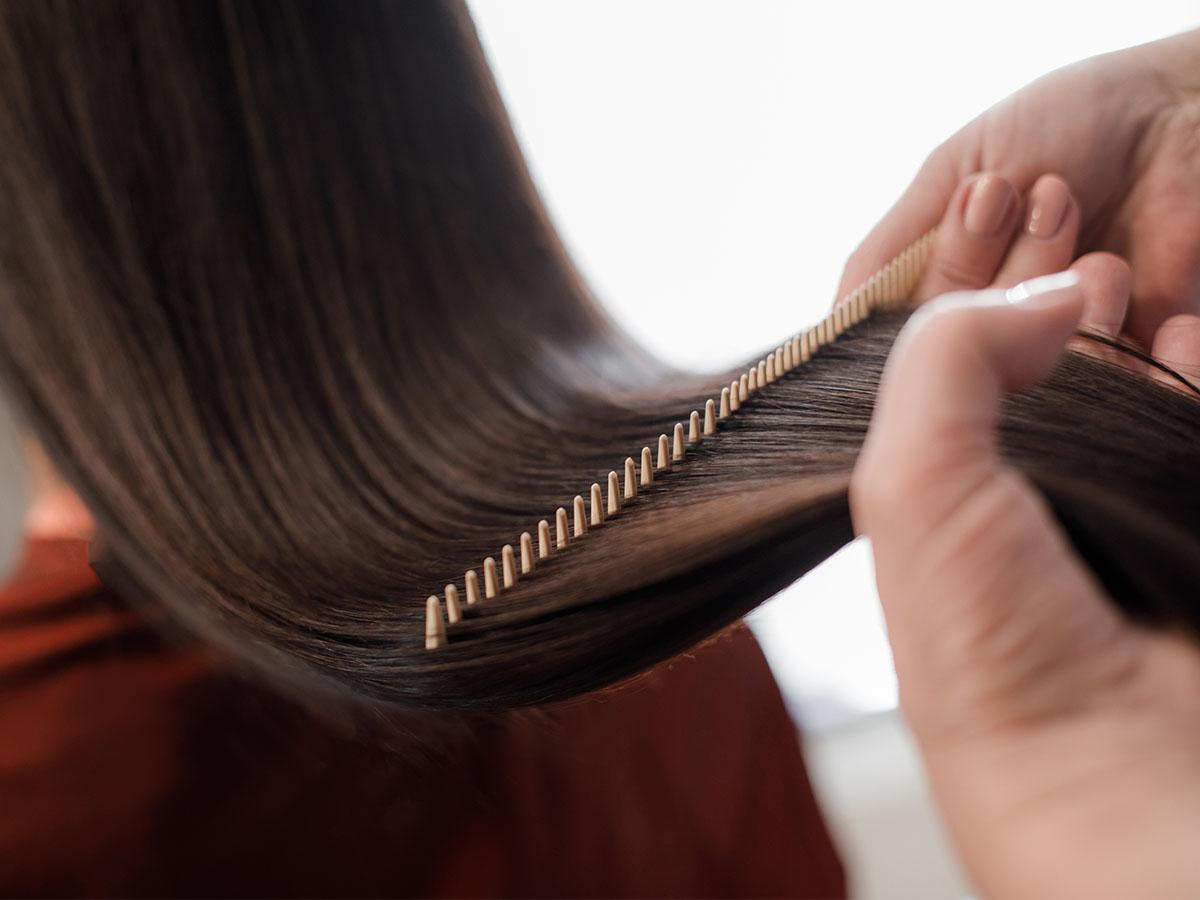 sztywne włosy jak stylizować