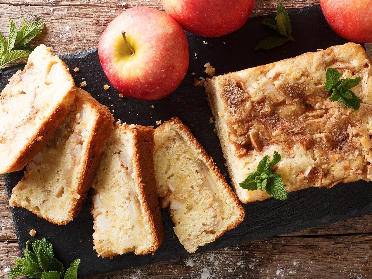 przepis na placek z jabłkami