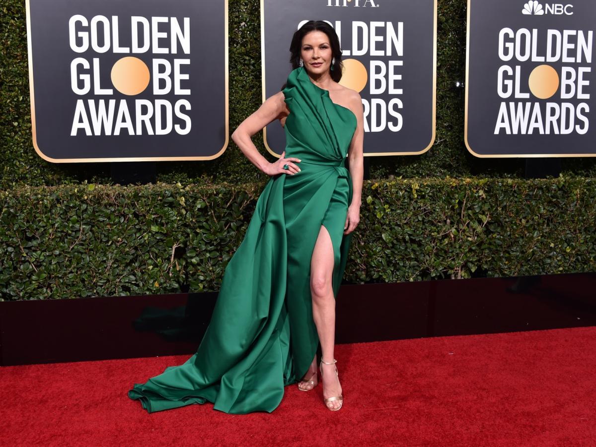 Catherine Zeta-Jones na rozdaniu Złotych Globów 2019