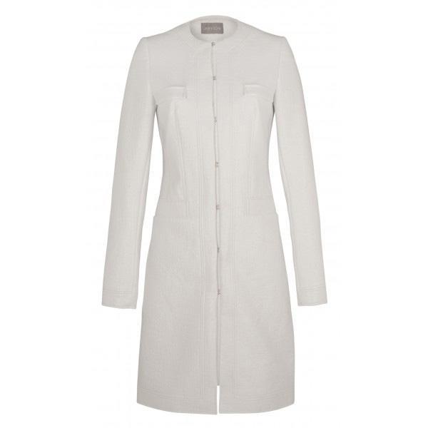 Biały płaszcz Aryton