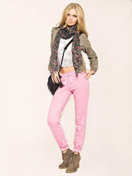 różowe spodnie Tally Weijl - wiosenna kolekcja