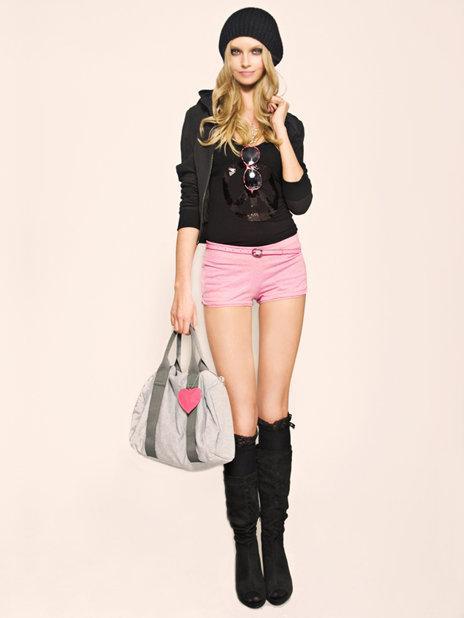 różowe szorty Tally Weijl - wiosenna kolekcja
