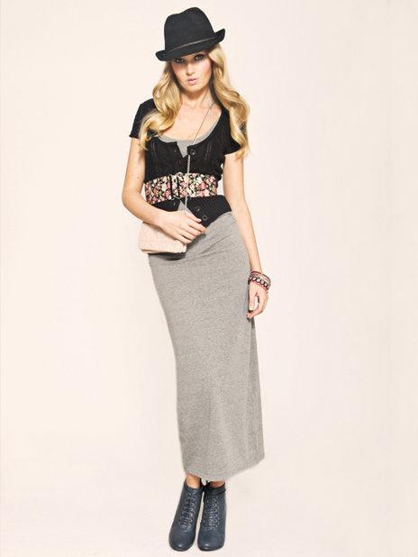 szara spódnica Tally Weijl - wiosenna kolekcja