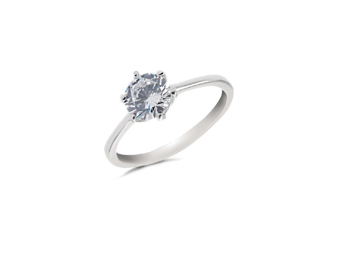 2. Srebrny pierścionek zaręczynowy z cyrkonią, bizuteriaperlei.pl, 46 zł.jpg