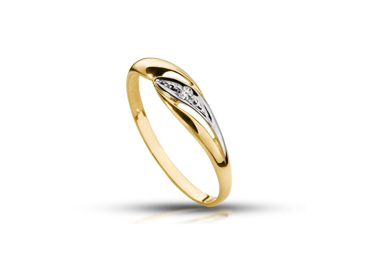 10. Złoty pierścionek zaręczynowy z brylantem, abgold.pl, 399 zł.jpg