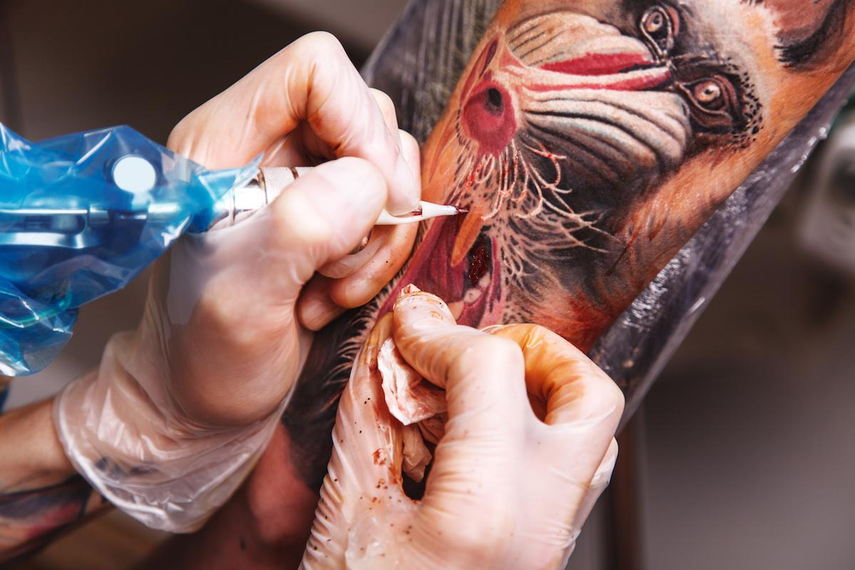 tatuowanie 3D