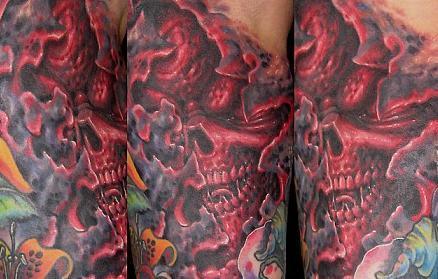 Tatuaże – czaszki (galeria)
