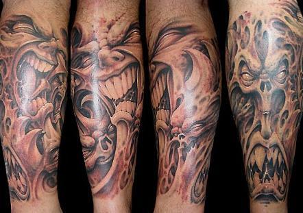 Tatuaże – demony (galeria)