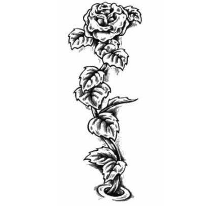 Tatuaże – motywy roślinne (galeria)