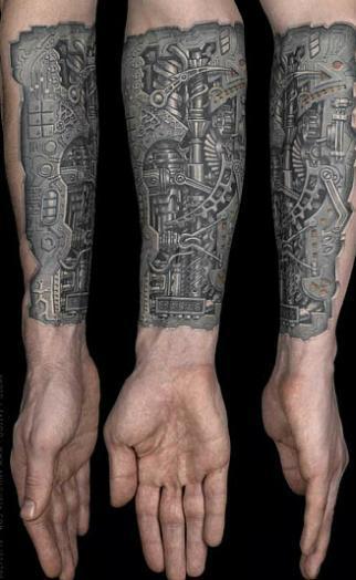 Tatuaże Na Przedramionach I Dłoniach Galeria Pielęgnacja Ciała