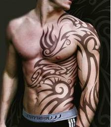 Tatuaże – tribale (galeria)