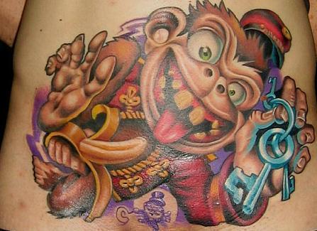 Tatuaże typu New School [galeria]