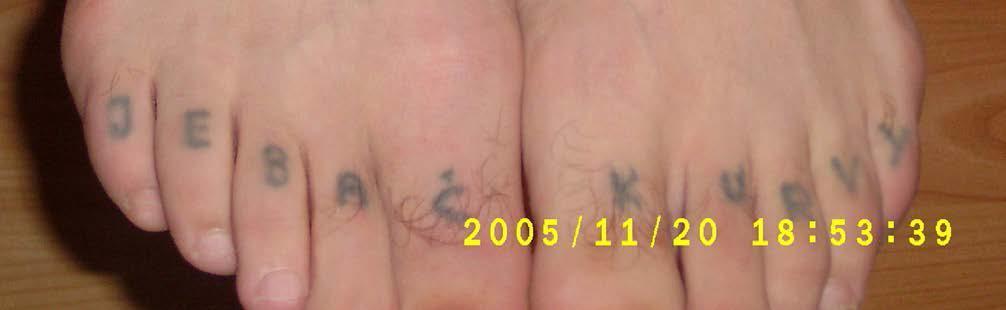 Tatuaże więzienne erotyczne – galeria