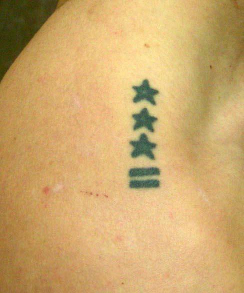 """Tatuaże więzienne """"grypserskie"""" – galeria"""