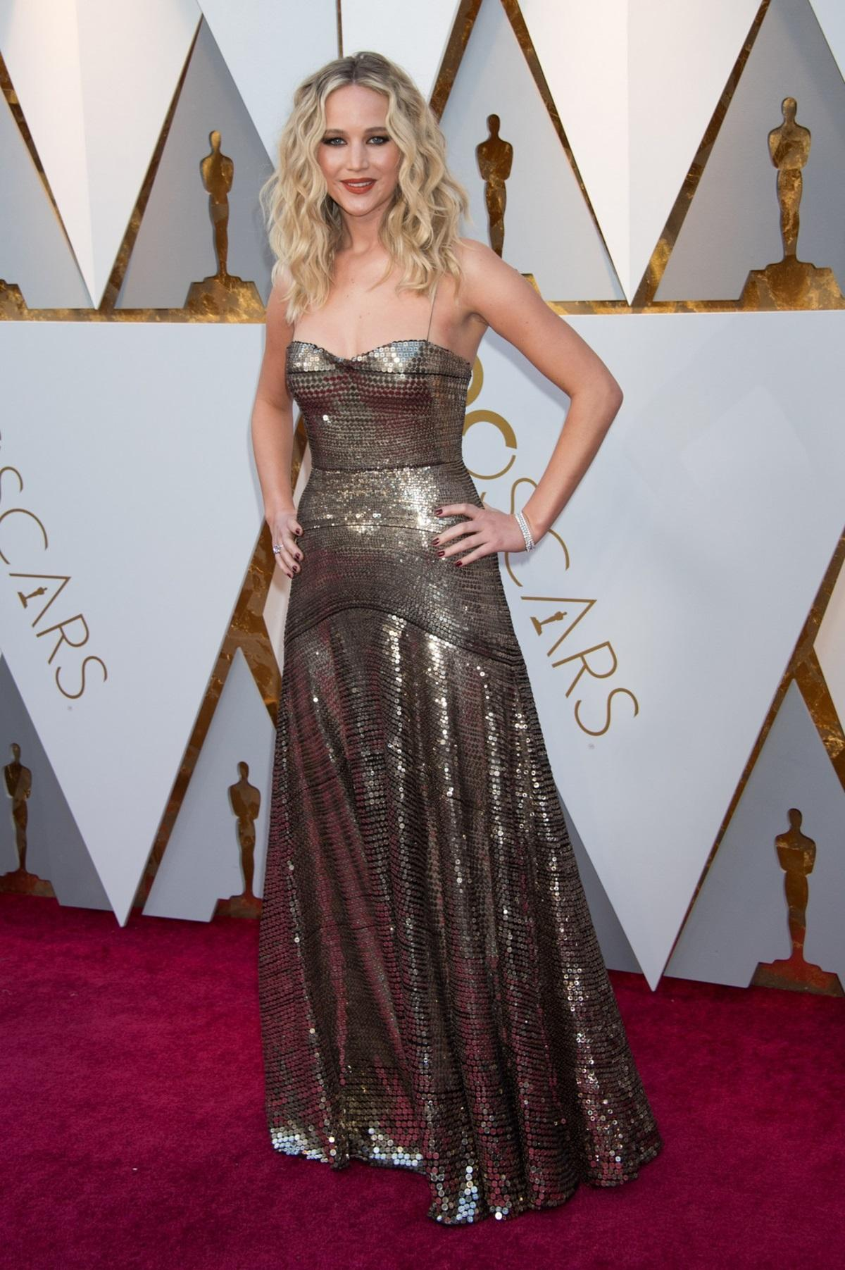 Jennifer Lawrence na Oscarach 2018