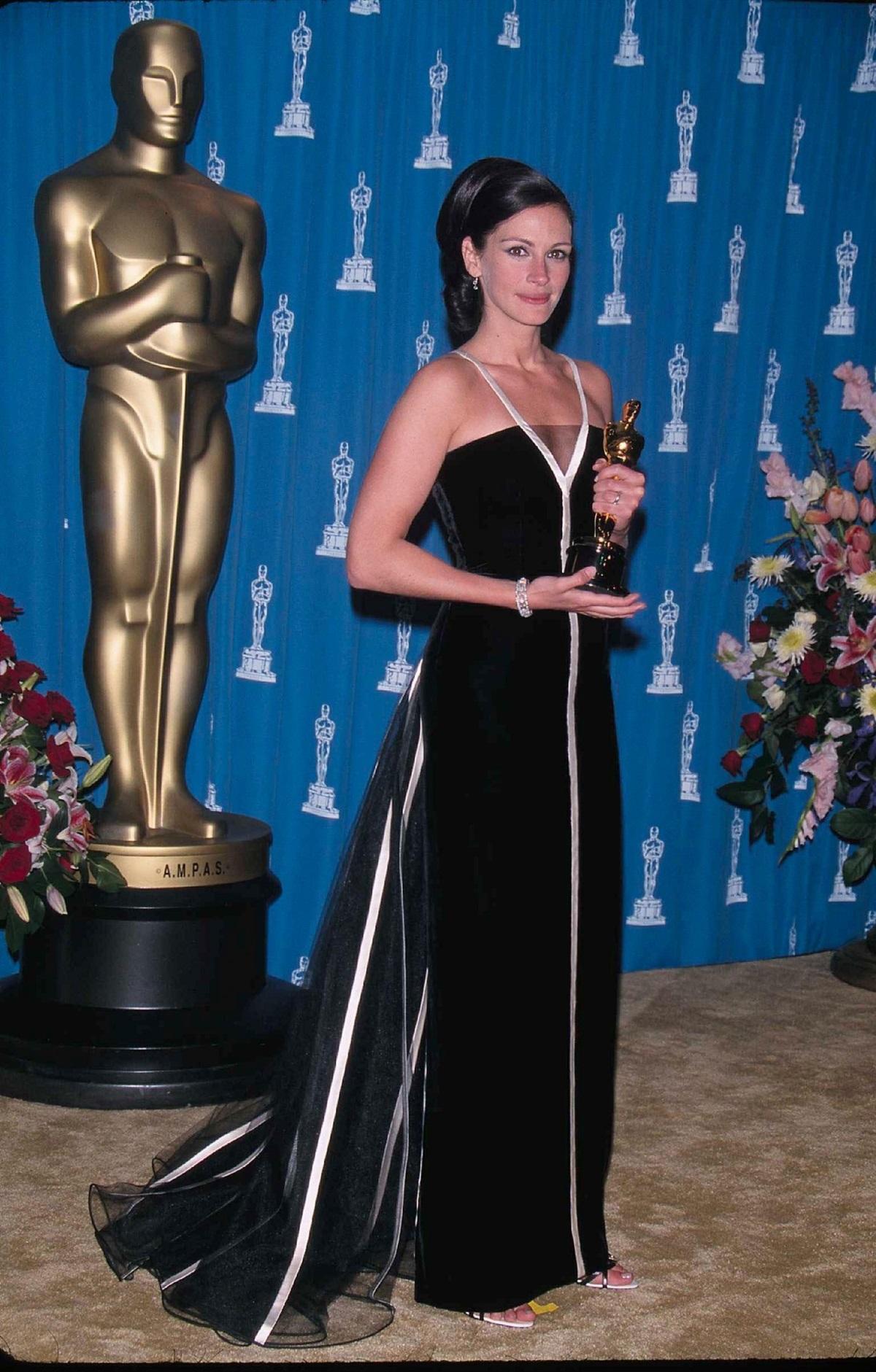 Julia Roberts na Oscarach 2001