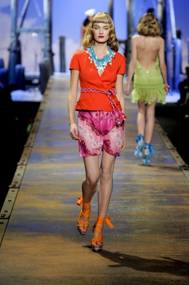 Christian Dior, kolekcje wiosna/lato 2011, pokaz mody wiosna/lato 2011