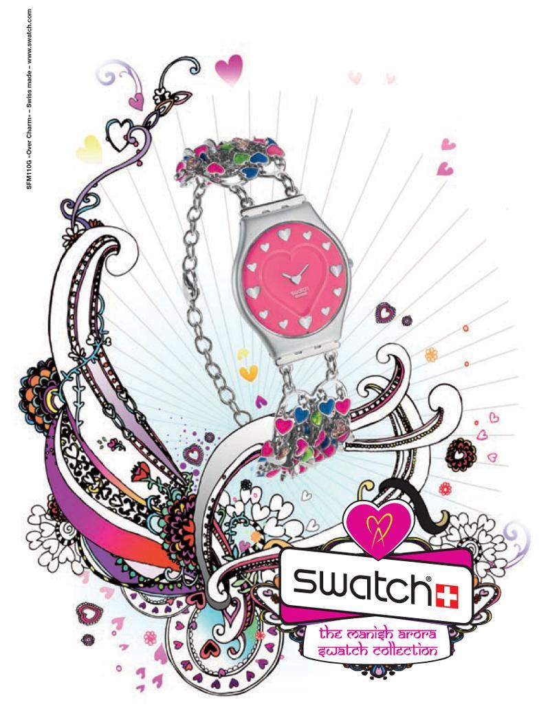 The Manish Arora Swatch Collection - wiosna/lato 2009 - Zdjęcie 11
