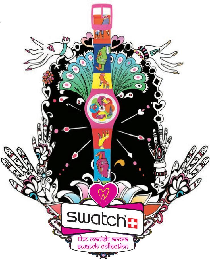 The Manish Arora Swatch Collection - wiosna/lato 2009 - Zdjęcie 14