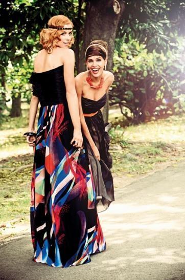 maxi sukienka TK Maxx - lato 2013