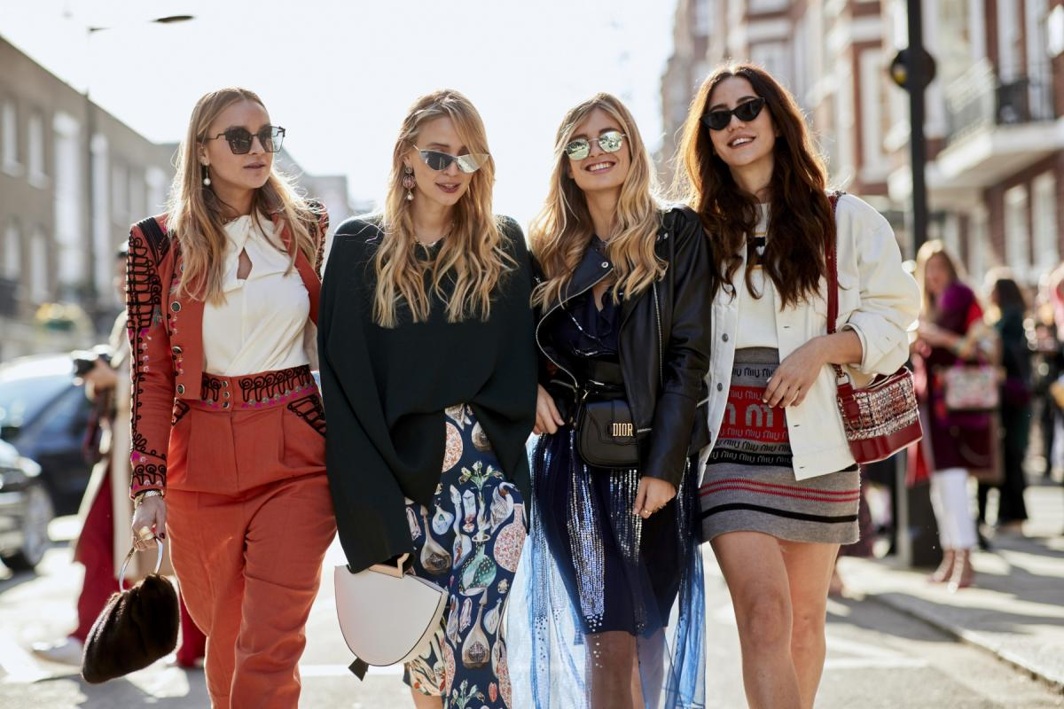 Moda uliczna - jesień 2018