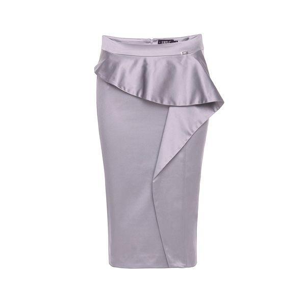 Szara spódnica ołówkowa Simple, cena
