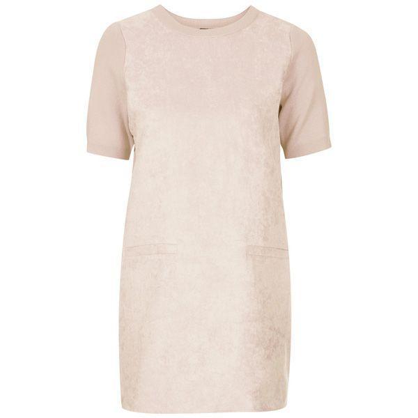 Zamszowa sukienka Topshop, cena