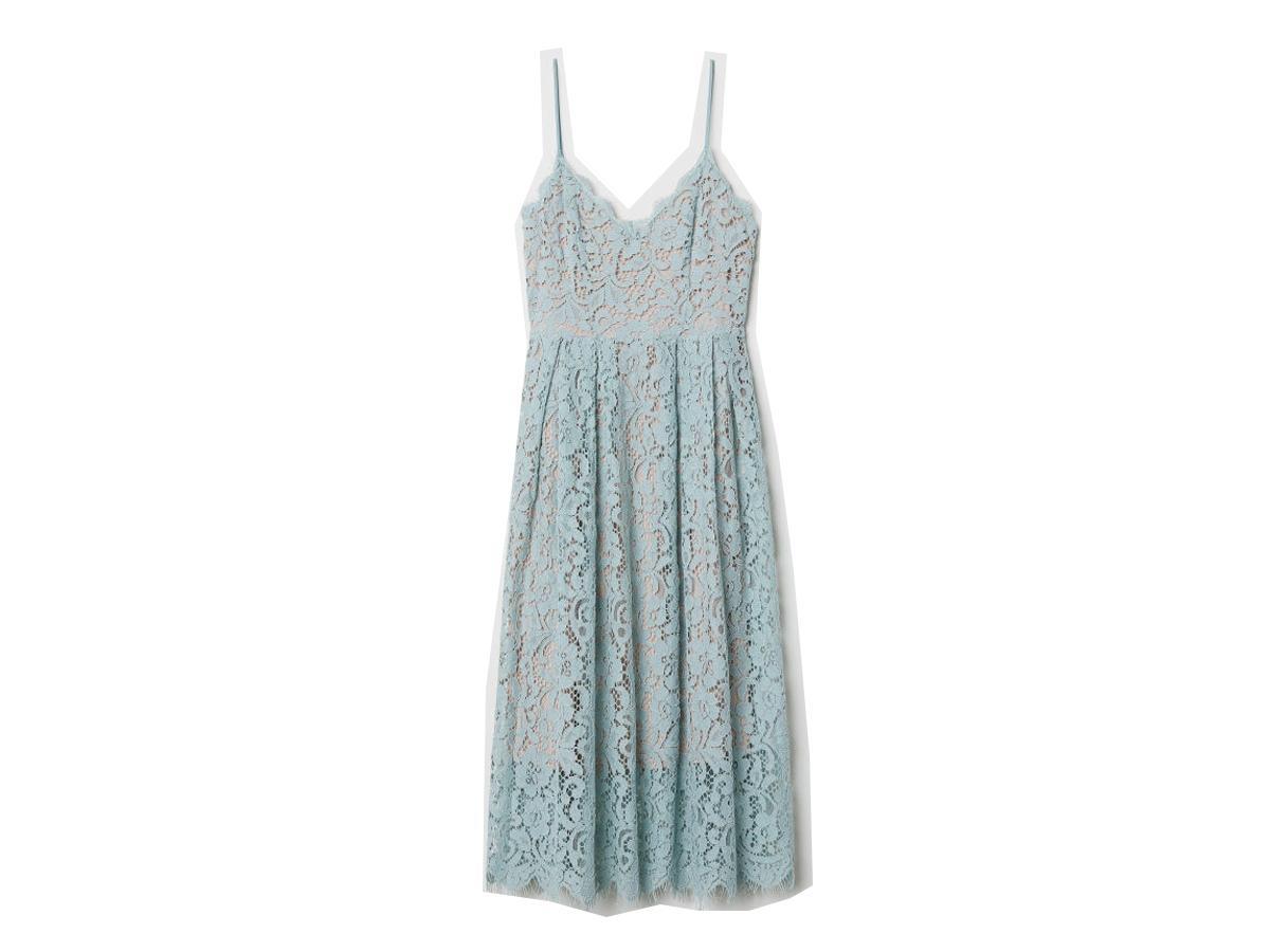 1ef9dd32a4 Sukienka z pastelowej koronki H M