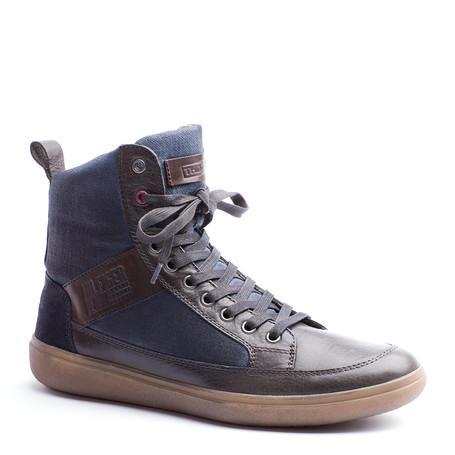 2ad59663ff334 Tommy Hilfiger - buty dla mężczyzn na jesień i zimę 2012  2013. Buty  sportowe Tommy Hilfiger granatowe za kostkę wiązane ...