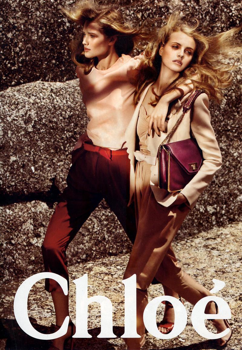 Chloe wiosna/lato 2009 - Toni Garrn