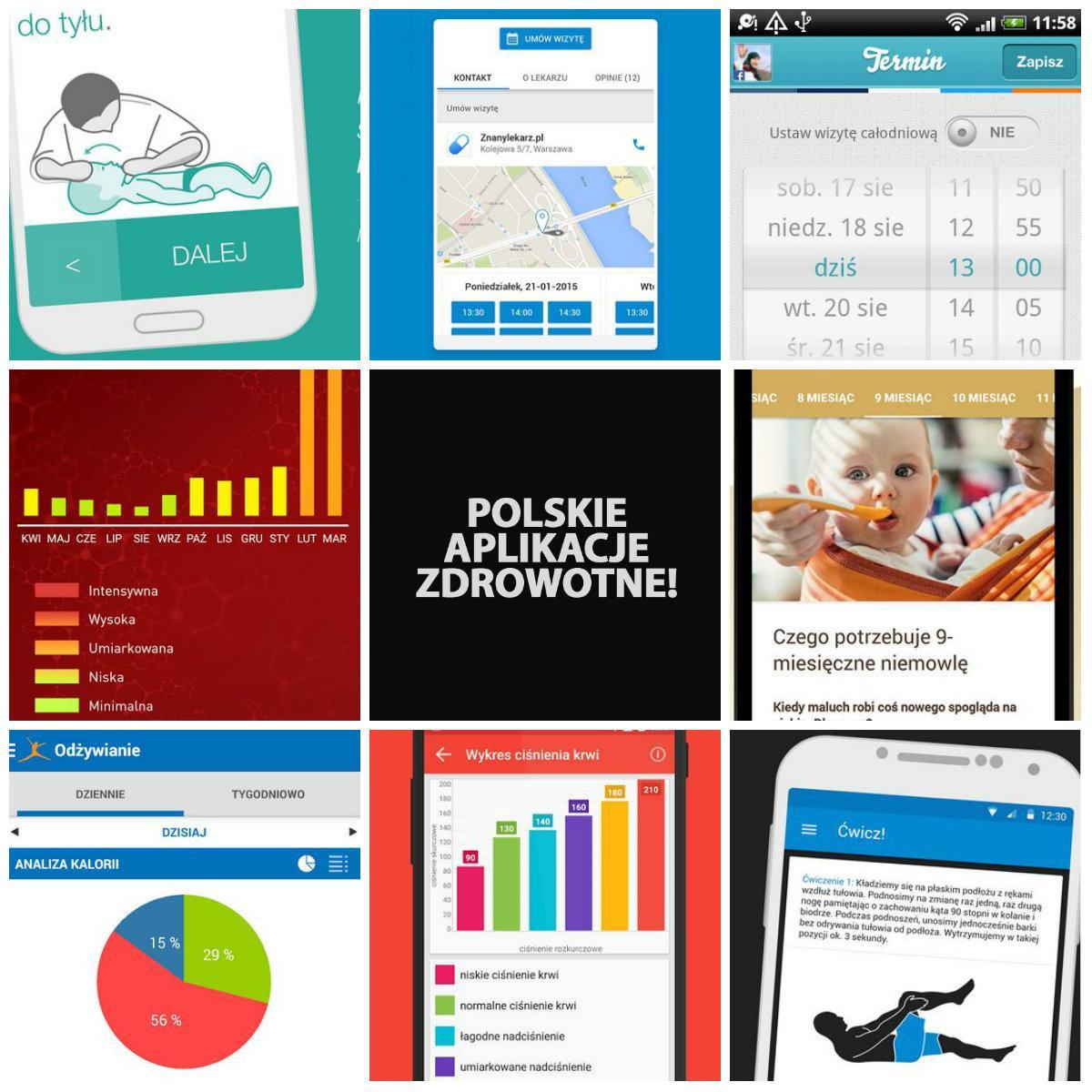 Top 8 bezpłatnych aplikacji zdrowotnych!