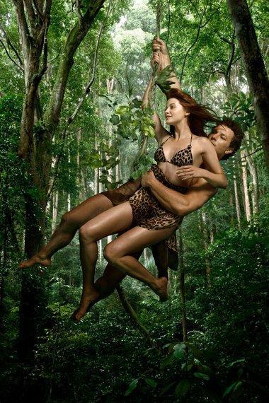 "Magda Swat, ""Tarzan i Zaginione Miasto"", fot. TVN"