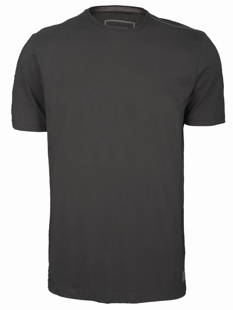 popielaty t-shirt Top Secret - moda wiosna/lato