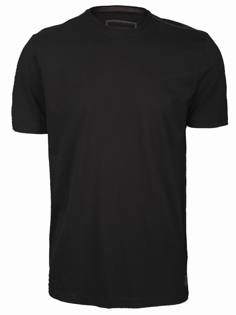 czarny t-shirt Top Secret - moda wiosna/lato
