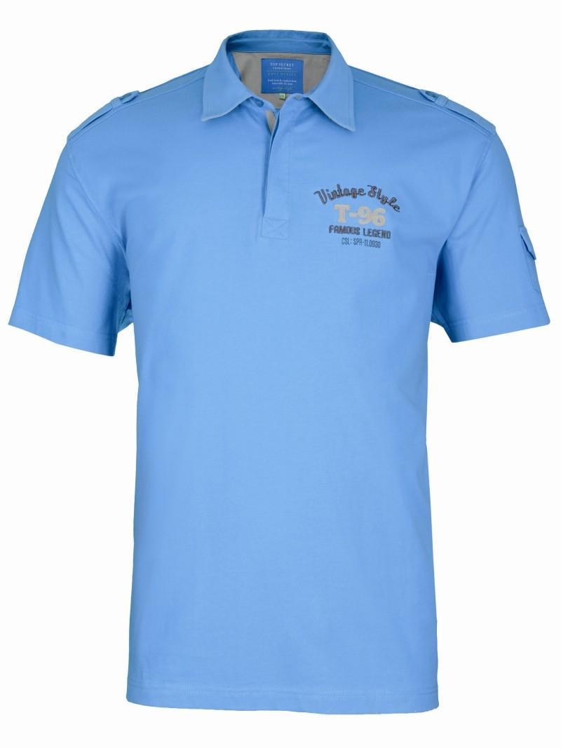 niebieska koszulka Top Secret - letnia kolekcja