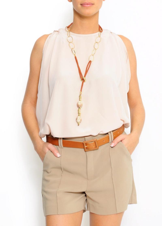 biała bluzka Mango - lato 2011