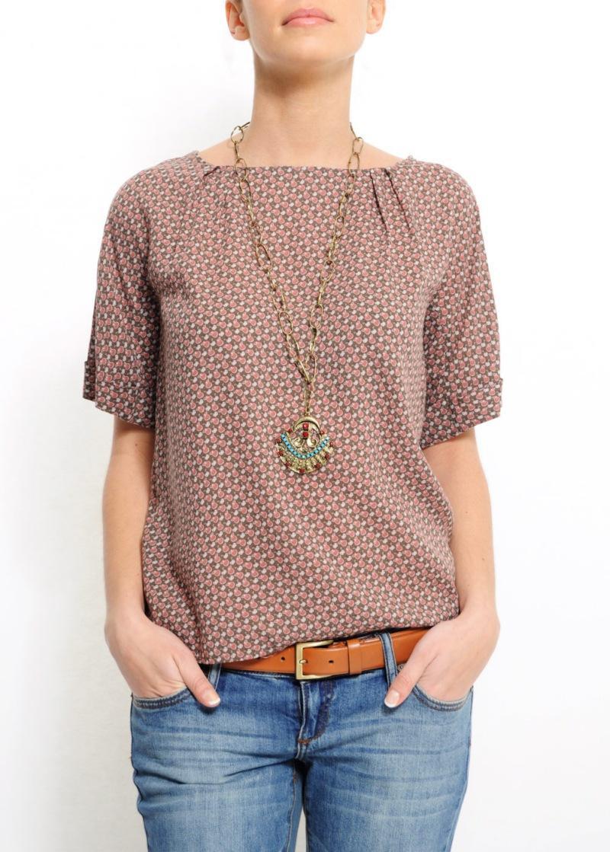bluzka Mango we wzory - wiosna/lato 2011