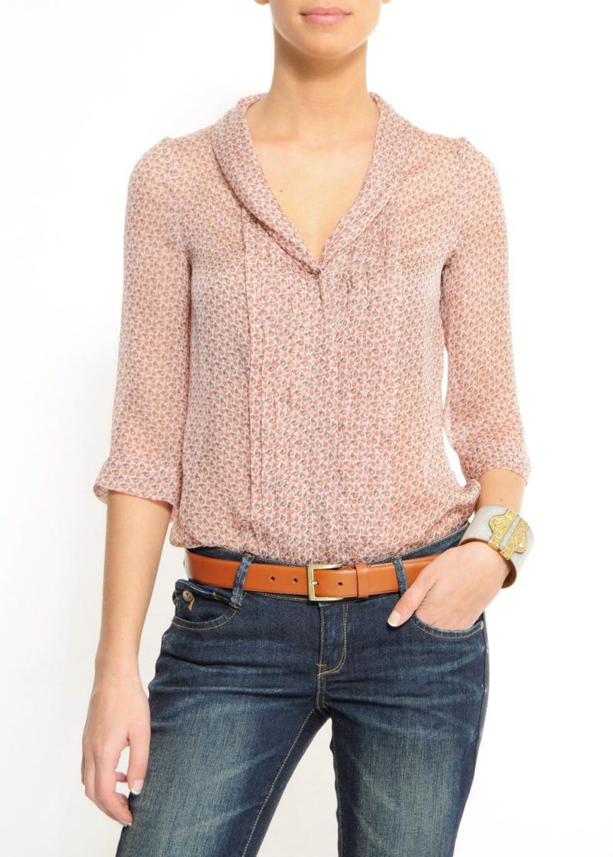 beżowa bluzka Mango - wiosna/lato 2011