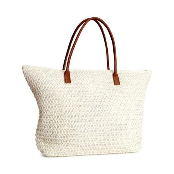 3cb7d7a0 Torba plażowa H&M, cena ok. 49 zł - Torba plażowa - Moda lato 2014 ...