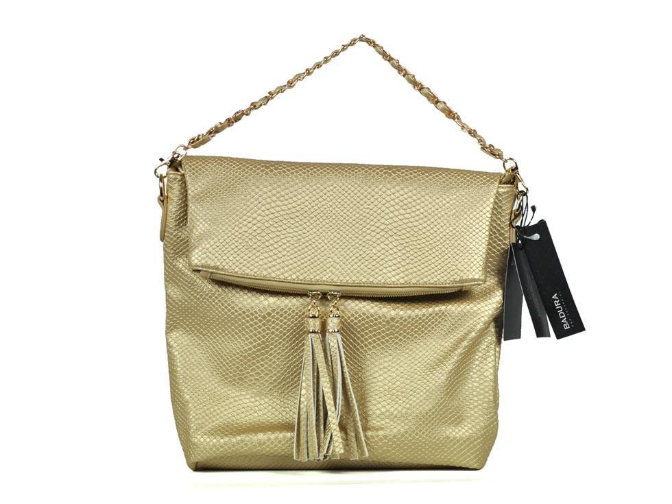 złota torebka Badura - modne dodatki
