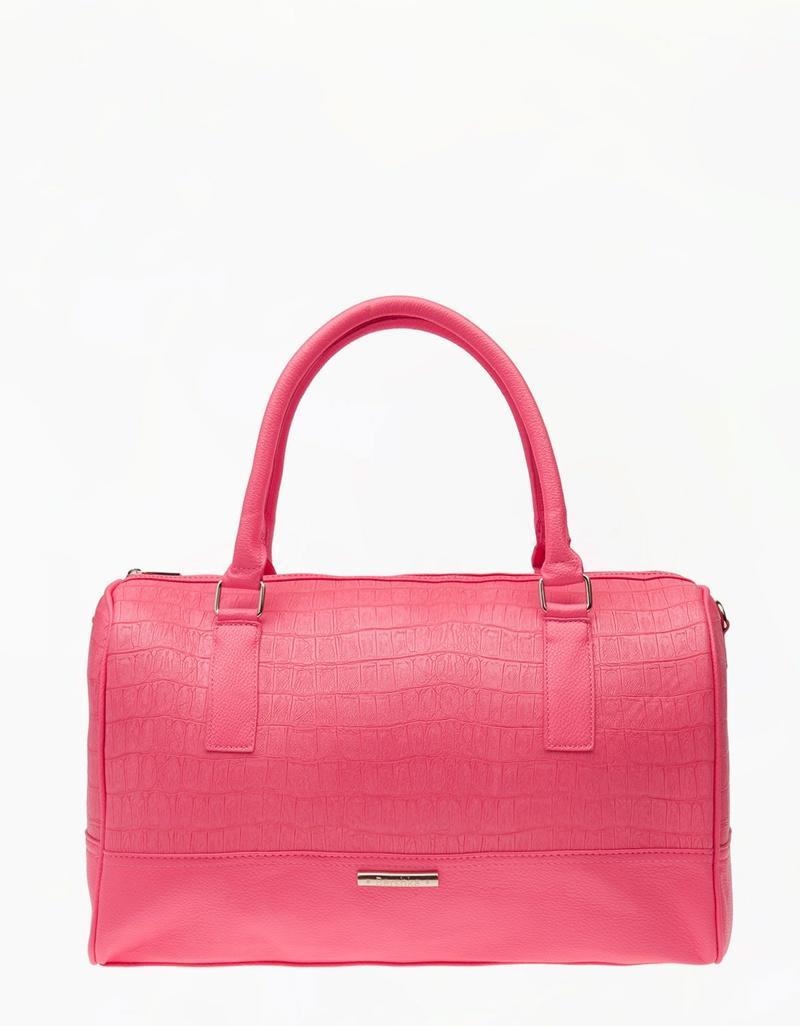kuferek Bershka w kolorze różowym - torebki na lato