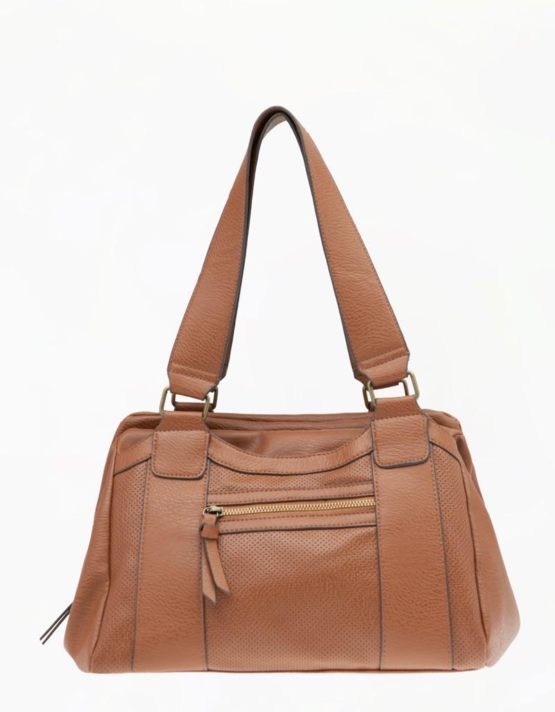 torebka Bershka w kolorze brązowym - torebki na wiosnę