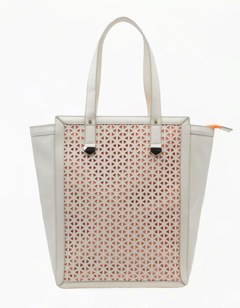 torebka Bershka w kolorze szarym - torebki na lato