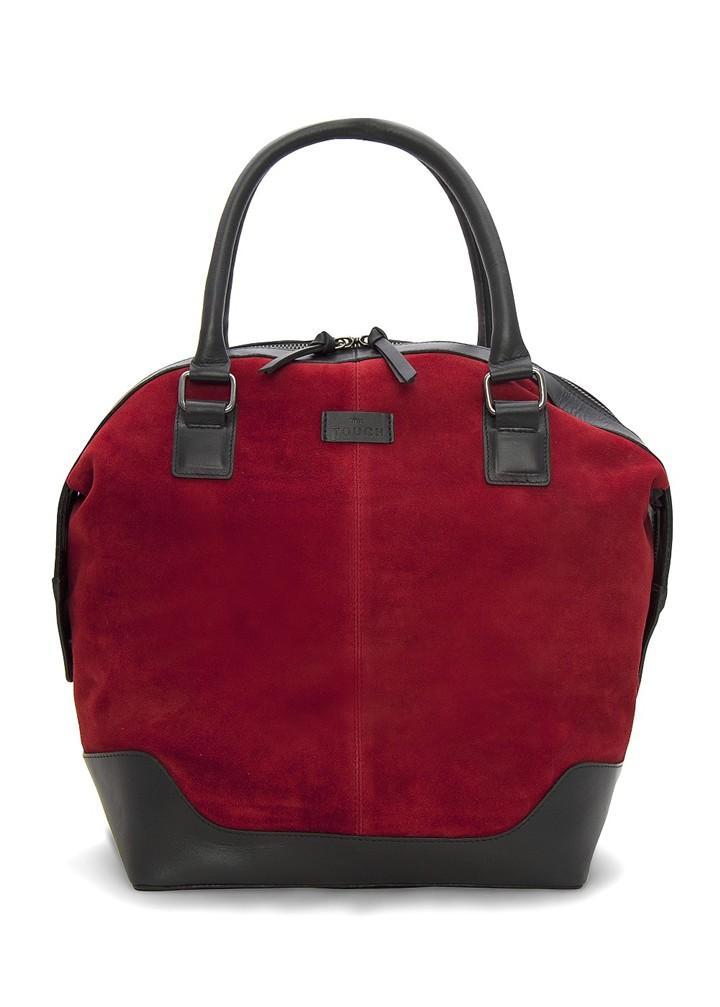 596bea2382fcb modna torebka Mango w kolorze bordowym - najmodniejsze torebki ...
