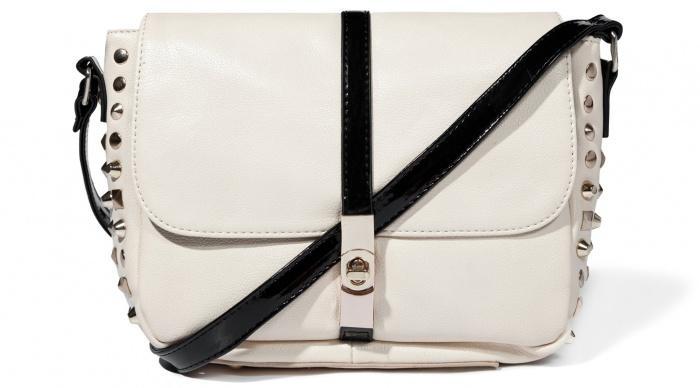 elegancka torebka Mohito w kolorze ecru - modne dodatki
