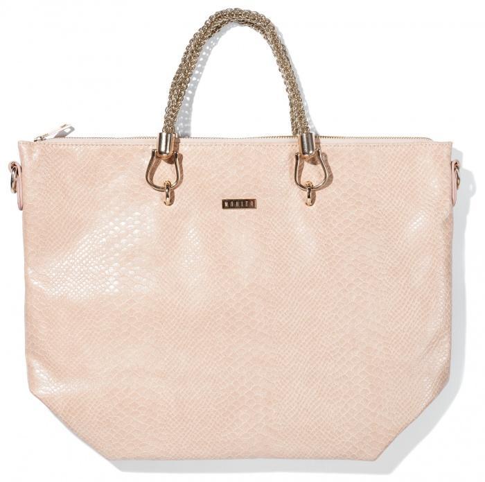 elegancka torebka Mohito w kolorze jasnoróżowym - torebki na lato