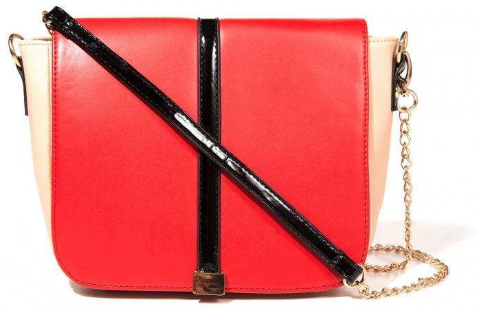 czerwona torebka Mohito - torebki na lato