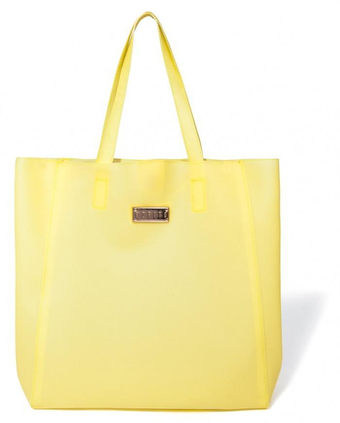 duża torebka Mohito w kolorze żółtym - trendy na lato
